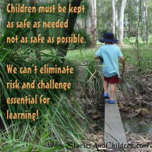 children learning and being safe